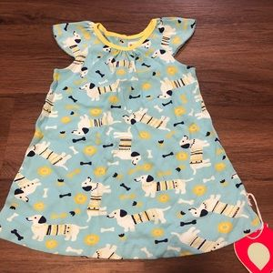 Piccalilly sausage dog baby dress/shirt 3-4years